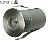 luz de tierra al aire libre de 1With3W IP67 LED