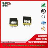Alto tipo di piccola dimensione trasformatore del trasformatore SMT di ritorno del raggio catodico di induttanza Ep10