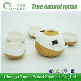 POT e tazze cinesi del tè dell'insieme di tè della porcellana