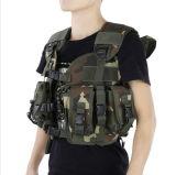 Heiße Verkaufs-Tarnung-kühle taktische Weste-im Freien Militärarmee-Weste, die Schutzausrüstung-Weste jagt