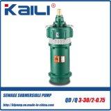 Pompes à eau submersibles électriques à plusieurs étages de QD&Q (QD10-40/3-2.2)