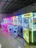 La máquina de juego premiada de la máquina de juego de la diversión de la garra del juguete/del caramelo del tigre de los PP