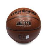 Qualität-kundenspezifisches Firmenzeichen gedruckter Basketball, sortieren die 7 PU-zusammengesetzte lederne Abgleichung-Basketball-Kugel