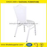 PU 덮개를 가진 호화스러운 백색 결혼식 의자 사건 의자 연회 의자