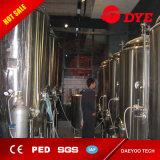 sistema forçado ar da fabricação de cerveja 10bbl/embarcações tanque do licor/Tun Lauter da erva-benta/da chaleira e Whirlpool quentes 3 do Brew