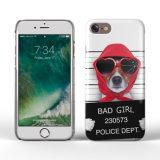 Cassa divertente del telefono della stampa di iPhone 7 del cane