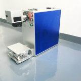 Grabador portable del laser de la máquina de la impresión por láser del metal para el plástico