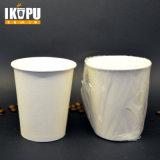 Устранимые бумажные стаканчики PLA кофейной чашки с крышкой