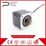 motor de pasos eléctrico de la C.C. de 20m m mini con extensamente útil