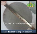 単層のステンレス鋼の編まれた金網フィルター