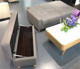 Wohnzimmer-Gewebe zwei gefaltetes Sofabed Wirh Strage Kasten-Osmane