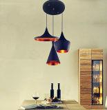 현대 산업 경양식점 장식적인 늘어진 램프 빛