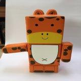Juguetes atractivos del estilo de los bloques huecos de la jirafa