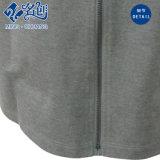 灰色の新式の円形カラー後部ジッパーの細い方法女性服