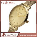 고전적인 작풍 폴딩 걸쇠 스테인리스 여자 시계