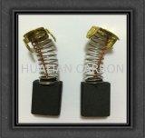 Mini remplacement électrique de balai de charbon de ventilateur de ventilateur du carbone Brush/CB-155 du graphite D252 de la vente en gros 6.5X13.5X16mm de CB-154