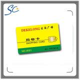 Contato com cartão inteligente para consumo eletrônico comercial e operação bancária