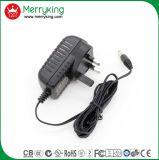 Merryking Marke Wand-Hängen 12V 1A Energien-Adapter des Adapter-BRITISCHEN Stecker-AC/DC ein