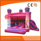 bouncy Jumping Castle (T2 510) 분홍색 팽창식 결혼식 공주