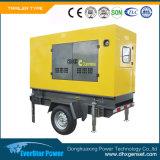 Tipo gerador do carro de potência ajustado de geração Diesel dos geradores elétricos de Genset