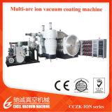 Machine sanitaire de placage d'ion des articles PVD, système de métallisation des robinets PVD, machine en laiton de placage du chrome PVD de taraud
