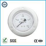 Gaz ou liquide de pression d'acier inoxydable de manomètre de pression de 002 installations