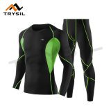 摩耗のLong-sleeved長袖シャツの長ズボンのスポーツのスーツの適性の上およびズボンを循環させている人