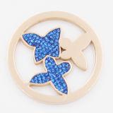 Monete della farfalla misura con i monili Pendant di modo del Locket
