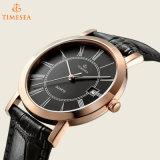 水晶自動手のクロノグラフの簡単な人の腕時計72439