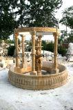 De grote Marmeren Fontein van de Fontein van het Beeldhouwwerk van de Fontein