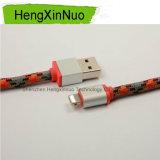 Cable de carga del USB del relámpago trenzado de la alta calidad para el iPhone