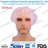 병원 장비 처분할 수 있는 PP 비 길쌈된 직물 의학 군중 모자