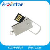 USB3.0는 USB 기억 장치 지팡이 금속 회전대 USB를 방수 처리한다