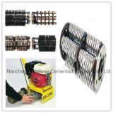Tambores del escarificador instalados en las máquinas del escarificador para la pavimentación superficial del suelo
