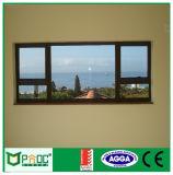Het Afbaardende Venster van het aluminium, de Spoel die van de Ketting venster-Pnoc002 afbaarden