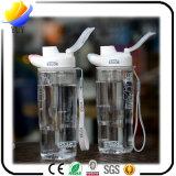 Kundenspezifische Form-unzerbrechliche Plastikflasche mit Sport-Flasche