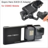 Goproの英雄5/4/3+/3のスポーツのカメラのアクセサリのアダプタースイッチ台紙の版