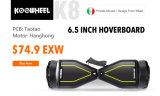 Roda 6.5inch Hoverboard de Koowheel dois com o certificado UL2272