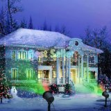 하우스 파티 야드 정원 나무 점화를 위한 먼 Staticstar 투상 샤워를 가진 옥외 크리스마스 레이저 광 쇼 영사기