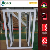 Удар Windows PVC темный подкрашиванный стеклянный, двойной удар окна Casement