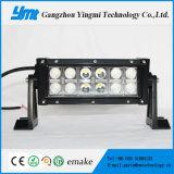 Offroad 지프를 위한 36W LED 플러드 또는 반점 광속 LED 일 빛