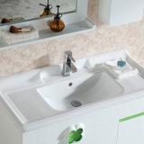Vanidad blanca de la cabina de cuarto de baño de Paintting con la cabina lateral