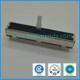 type droit potentiomètre de glissière de 100mm pour l'amplificateur de mélangeur
