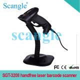 Laser Barcode 스캐너 Handfree 휴대용 스캐너
