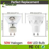 LED 가벼운 Dimmable 86-265V AC GU10 5W 6W 7W 찬 백색 LED 스포트라이트 전구