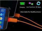Câble de caractéristiques micro de l'éclairage LED USB avec 1m pour le téléphone différent d'Andriod