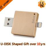 Neue kundenspezifische Firmenzeichen-Geschenke für iPhone USB-Feder-Laufwerk (YT-I002)