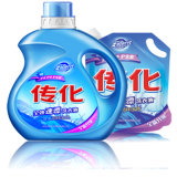 Detersivo liquido raddoppiato naturale della lavanderia molle