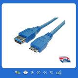 USB Af ao micro cabo do USB do Bm micro para o telemóvel