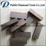 Segment van het Graniet van het Blad van de Zaag van Dimaond van het Zandsteen van China het Marmeren voor Verkoop